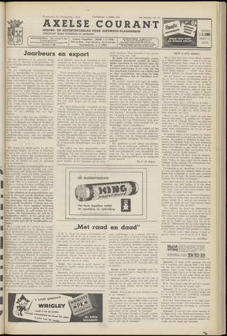 Axelsche Courant 1954-04-03