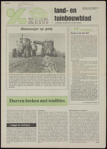Zeeuwsch landbouwblad ... ZLM land- en tuinbouwblad 1990-09-14