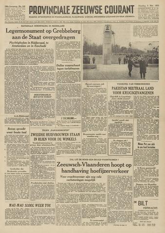 Provinciale Zeeuwse Courant 1953-05-05
