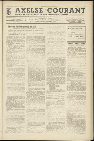 Axelsche Courant 1962-08-04