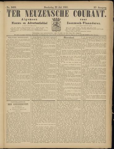 Ter Neuzensche Courant. Algemeen Nieuws- en Advertentieblad voor Zeeuwsch-Vlaanderen / Neuzensche Courant ... (idem) / (Algemeen) nieuws en advertentieblad voor Zeeuwsch-Vlaanderen 1897-07-29