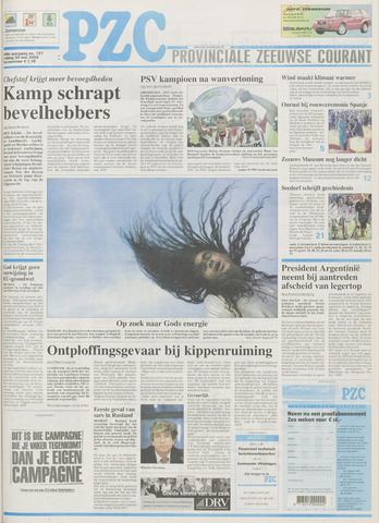 Provinciale Zeeuwse Courant 2003-05-30