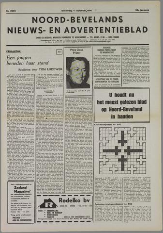 Noord-Bevelands Nieuws- en advertentieblad 1980-09-04