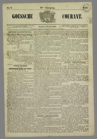 Goessche Courant 1855-01-08