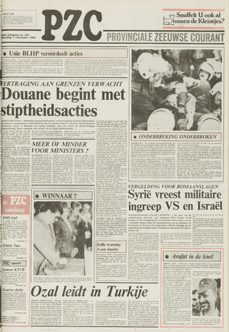 Provinciale Zeeuwse Courant 1983-11-07