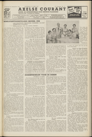 Axelsche Courant 1957-06-22