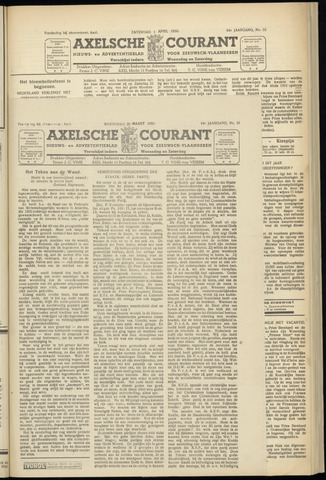 Axelsche Courant 1950-03-29