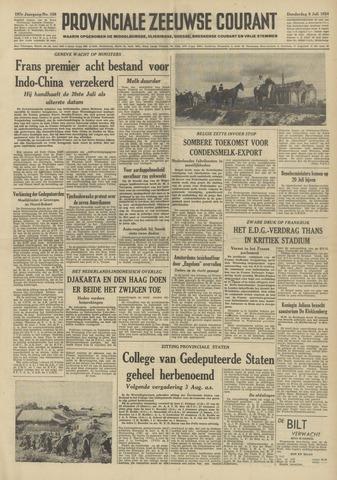 Provinciale Zeeuwse Courant 1954-07-08