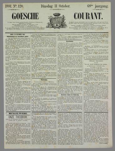 Goessche Courant 1881-10-11