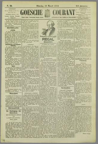 Goessche Courant 1924-03-18