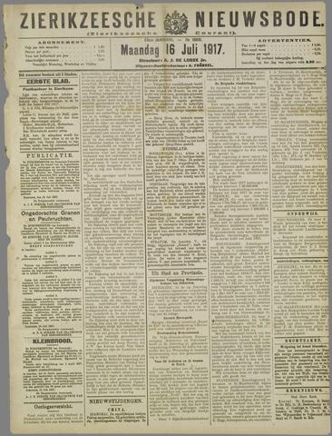 Zierikzeesche Nieuwsbode 1917-07-16