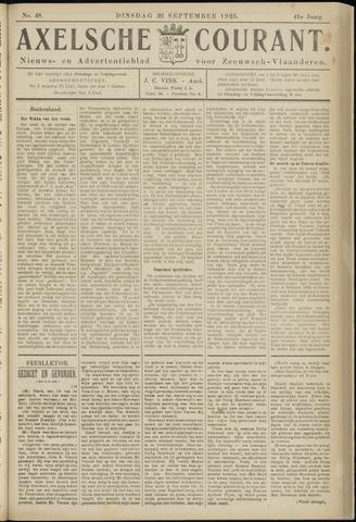 Axelsche Courant 1925-09-22