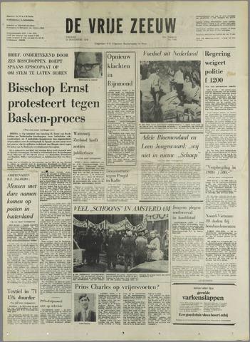 de Vrije Zeeuw 1970-11-27
