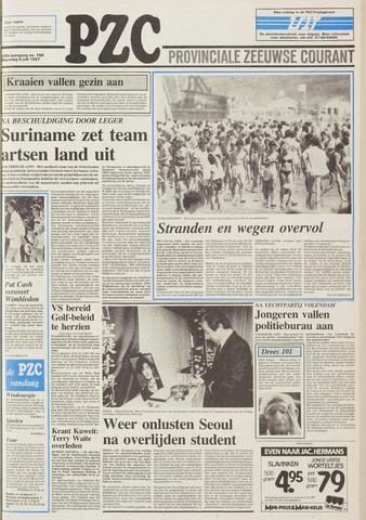 Provinciale Zeeuwse Courant 1987-07-06