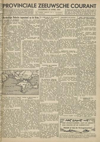 Provinciale Zeeuwse Courant 1944-04-15