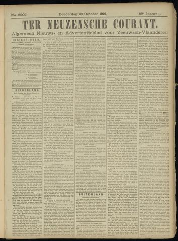 Ter Neuzensche Courant. Algemeen Nieuws- en Advertentieblad voor Zeeuwsch-Vlaanderen / Neuzensche Courant ... (idem) / (Algemeen) nieuws en advertentieblad voor Zeeuwsch-Vlaanderen 1919-10-30