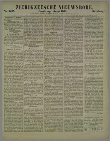 Zierikzeesche Nieuwsbode 1882-06-01