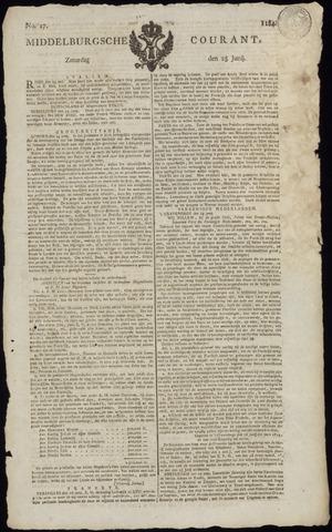Middelburgsche Courant 1814-06-25