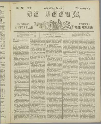 De Zeeuw. Christelijk-historisch nieuwsblad voor Zeeland 1912-07-17