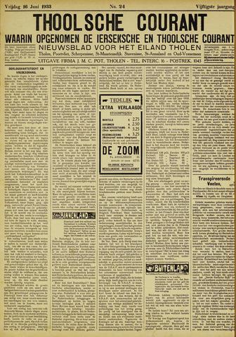 Ierseksche en Thoolsche Courant 1933-06-16