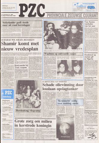 Provinciale Zeeuwse Courant 1988-12-27