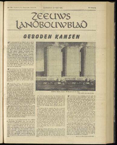 Zeeuwsch landbouwblad ... ZLM land- en tuinbouwblad 1961-05-27