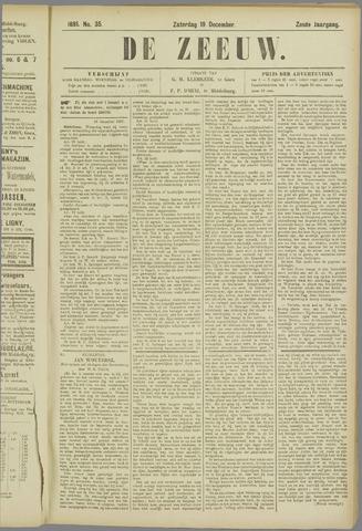 De Zeeuw. Christelijk-historisch nieuwsblad voor Zeeland 1891-12-19