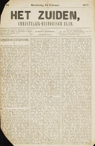 Het Zuiden, Christelijk-historisch blad 1877-02-15