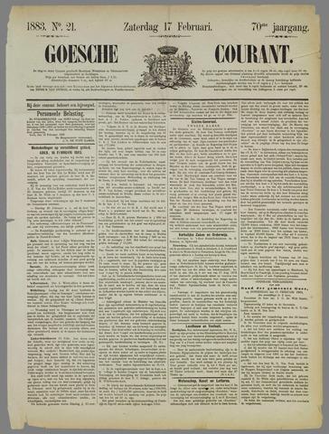 Goessche Courant 1883-02-17