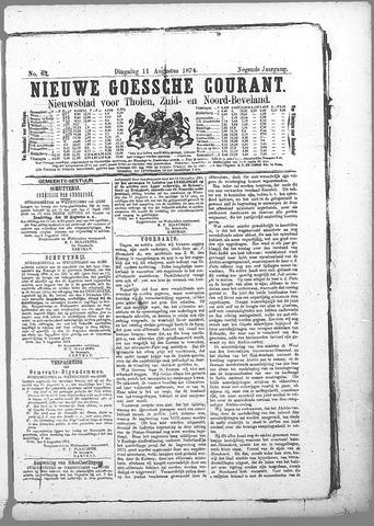 Nieuwe Goessche Courant 1874-08-11