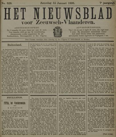 Nieuwsblad voor Zeeuwsch-Vlaanderen 1898-01-15
