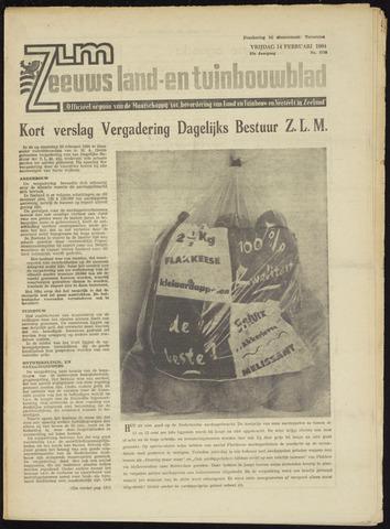 Zeeuwsch landbouwblad ... ZLM land- en tuinbouwblad 1964-02-14