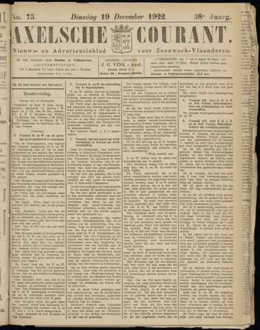 Axelsche Courant 1922-12-19