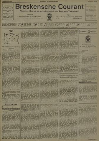 Breskensche Courant 1930-08-20