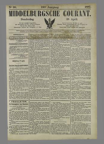 Middelburgsche Courant 1887-04-28
