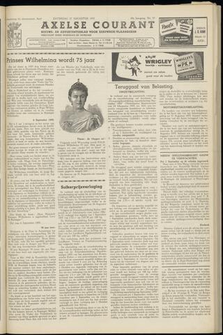 Axelsche Courant 1955-08-27