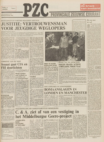 Provinciale Zeeuwse Courant 1975-01-28