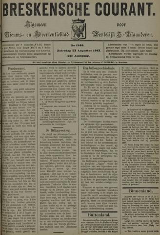 Breskensche Courant 1913-08-23