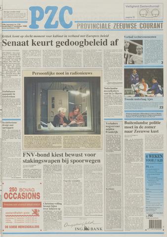 Provinciale Zeeuwse Courant 1996-11-21