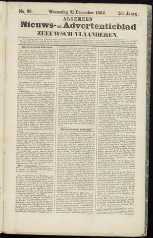 Ter Neuzensche Courant. Algemeen Nieuws- en Advertentieblad voor Zeeuwsch-Vlaanderen / Neuzensche Courant ... (idem) / (Algemeen) nieuws en advertentieblad voor Zeeuwsch-Vlaanderen 1862-12-31