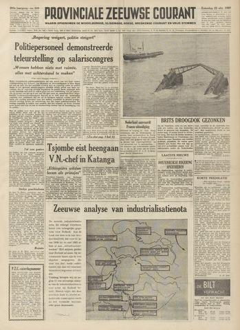 Provinciale Zeeuwse Courant 1960-10-22