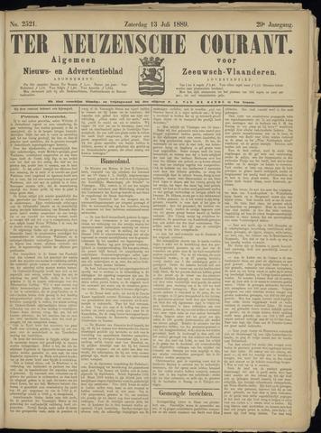 Ter Neuzensche Courant. Algemeen Nieuws- en Advertentieblad voor Zeeuwsch-Vlaanderen / Neuzensche Courant ... (idem) / (Algemeen) nieuws en advertentieblad voor Zeeuwsch-Vlaanderen 1889-07-13