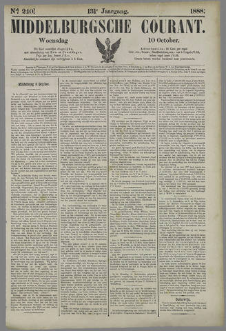 Middelburgsche Courant 1888-10-10