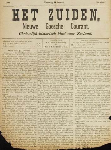 Het Zuiden, Christelijk-historisch blad 1885-01-31