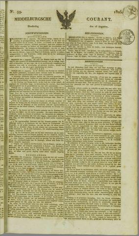 Middelburgsche Courant 1825-08-18