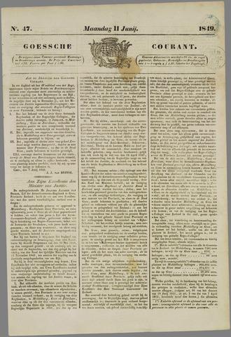 Goessche Courant 1849-06-11