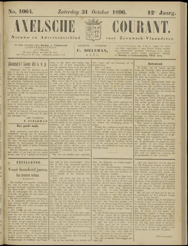 Axelsche Courant 1896-10-31