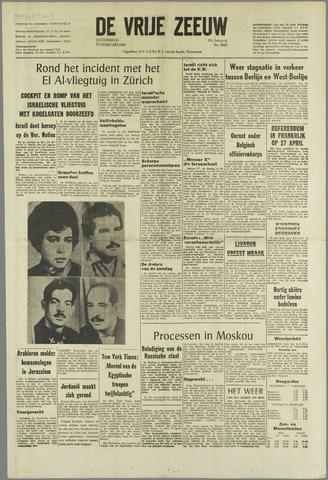 de Vrije Zeeuw 1969-02-20