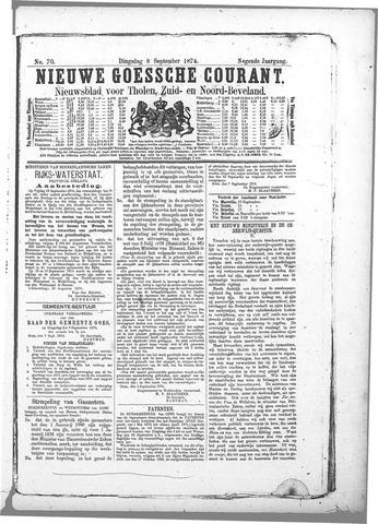Nieuwe Goessche Courant 1874-09-08