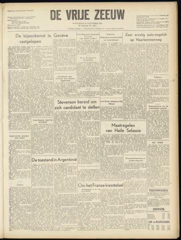 de Vrije Zeeuw 1955-11-16